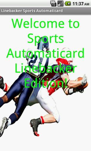 Linebacker Card Creator Free