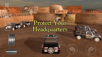 Screenshot of Cops vs. Mafia 4x4 3D