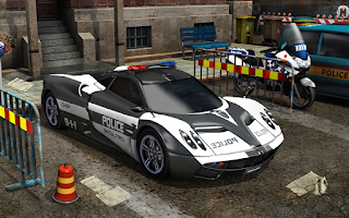 Screenshot of Skill3D Parking Police Station