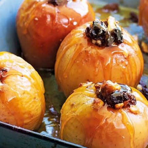 Baked Apples With Calvados Glaze
