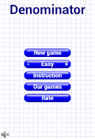 Screenshot of Denominator