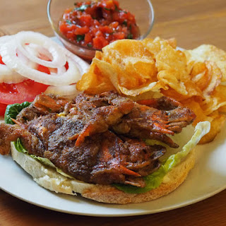 Butter-Sautéed Soft-Shell Crab Sandwiches With Tomato Salsa