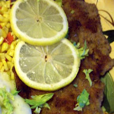 Veal Cutlets With Fried Lemon Slices (Wiener Schnitzel)