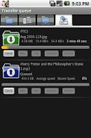 Screenshot of Greyhound FTP client
