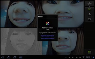Screenshot of Nemus Camera beta