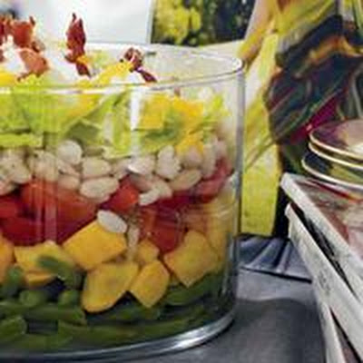 Warm Seven-Layer Salad