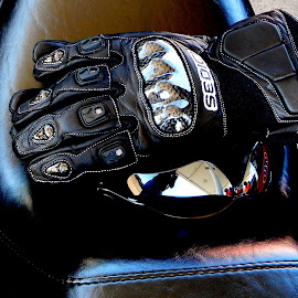 Dude, your gloves by Liz Hahn - Artistic Objects Clothing & Accessories