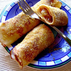 Nalesniki - Polish Crepes With Apple Filling