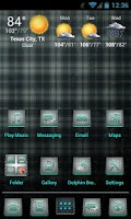 Screenshot of Plaid Apex/Nova Theme
