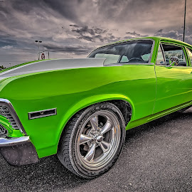 Green SS by Ron Meyers - Transportation Automobiles