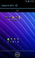 Screenshot of Binary Calendar Widget