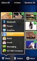 Screenshot of iLoader for Facebook