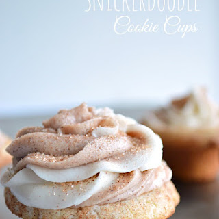 Snickerdoodle Cookie Cups