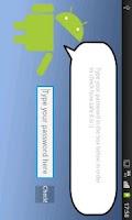 Screenshot of Check your password