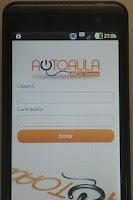 Screenshot of Autoaula AEOLservice