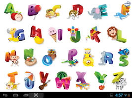 Screenshot of Kids ABC Tap & Learn