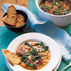 Kale, White Bean, and Sweet Potato Soup