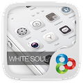 Free Download White Soul GO Launcher Theme APK for Samsung