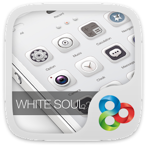 Cover art White Soul GO Launcher Theme