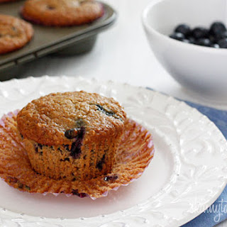 Insanely Good Blueberry Oatmeal Muffins