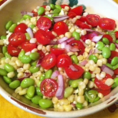 Ridiculously Good Edamame Salad