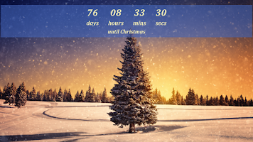 Screenshot of Christmas Countdown Widget