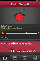 Screenshot of Radio Ciresarii