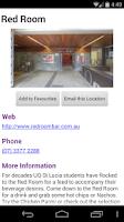 Screenshot of UQnav