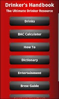 Screenshot of The Drinker's Handbook Lite