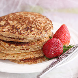 Bran Pancakes by Vrinda Mahesh - Food & Drink Cooking & Baking ( breakfast, pancakes, brunch, bran pancakes )