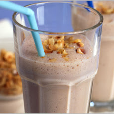 Banana, Honey And Hazelnut Smoothie