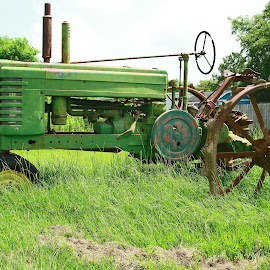 Antique Tractor by Ron Olivier - Transportation Other ( antique tractor )