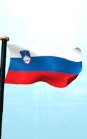 Screenshot of Slovenia Flag 3D Free