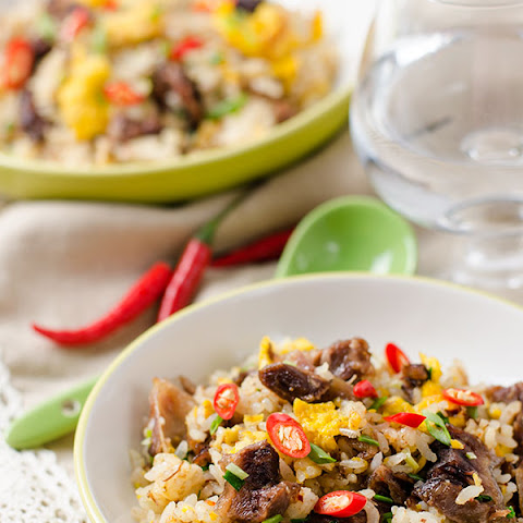 Mongolian Beef Fried Rice