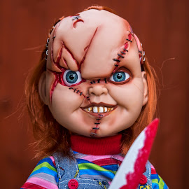Chucky by Mick Erwin - Digital Art Things ( olympus m.12-40mm f2.8, child's-play, omd, olympus e-m1, chucky )