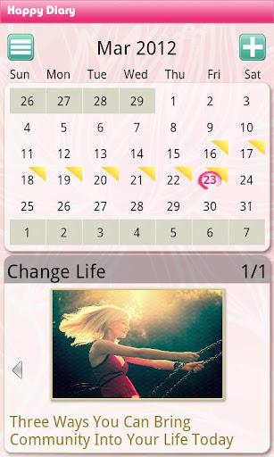 Happy Diary Free