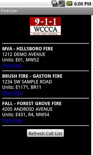 FireCom - Washington County