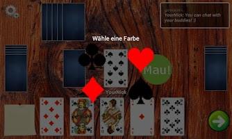 Screenshot of Mau-Mau (Bluetooth)
