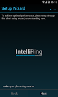 Screenshot of IntelliRing Free