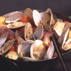 Cast-Iron Roasted Clams