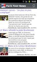 Screenshot of Paris News