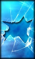 Screenshot of Broken Glass Live Wallpaper