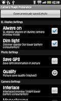 Screenshot of LiveView Remote Camera Plugin