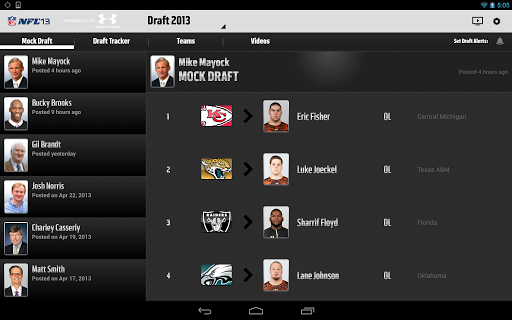 nfl-13-international for android screenshot