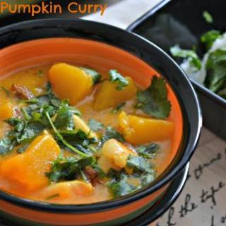 Pumpkin & Chicken Curry