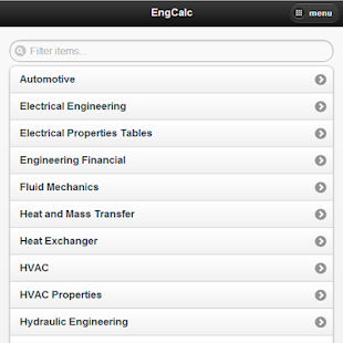 EngCalc-Engineering Calculator - screenshot