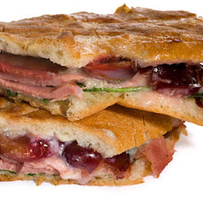 Smoked Duck and Cherry Pressed Sandwich Recipe