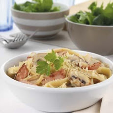 Light and Creamy Carbonara