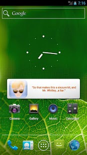 DSI: Miami Widget - screenshot