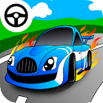 Fast car games for little kids 1.3 Apk